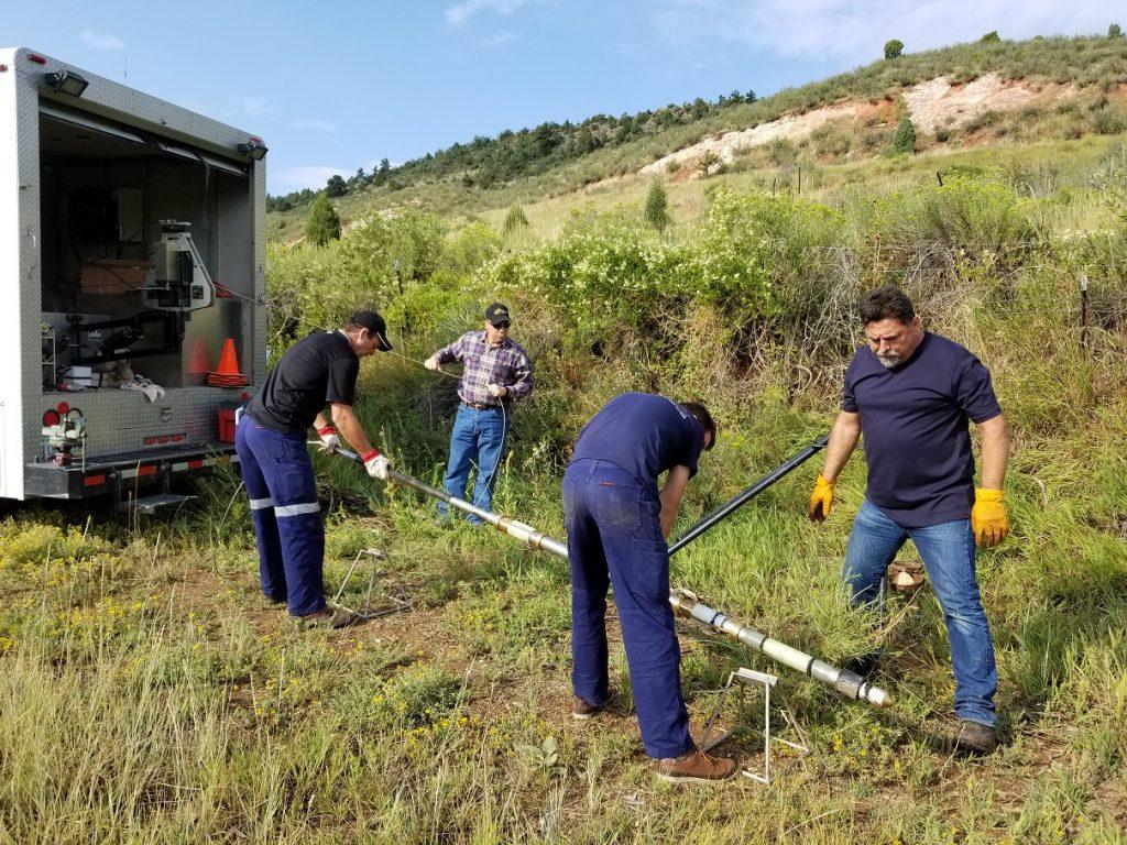 Field Logging NMR probe Ralston reservoir
