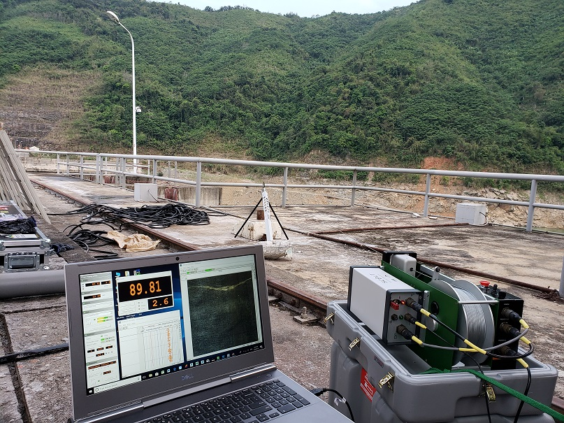 LoggerSuite software field site Vietnam dam