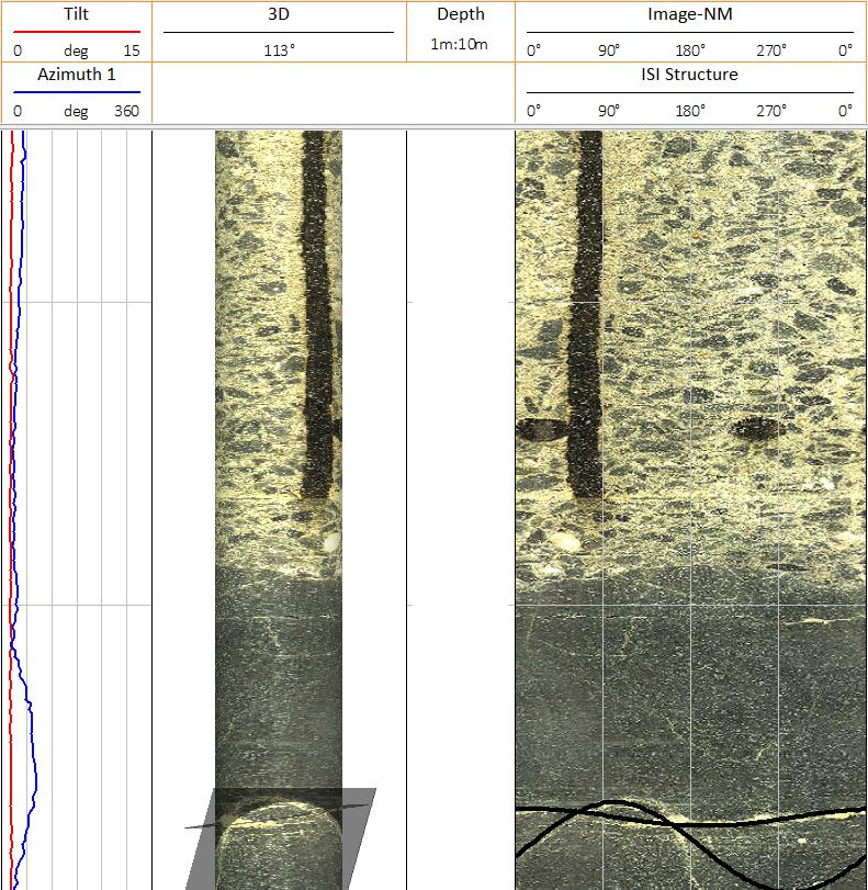 Image Concrete Dam Contact at the Foundation