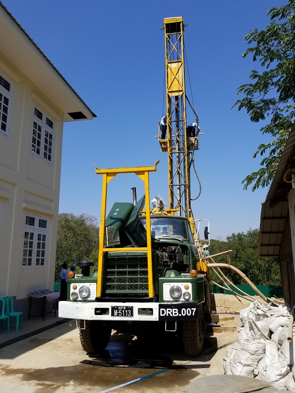 water well drilling and well logging myanmar