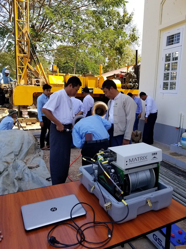 portable winch and logger console in Myanmar