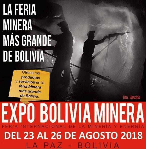 Mining Expo Bolivia 2018 La Paz Geophysics