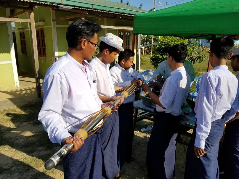 Groundwater Drilling and Logging in Myanmar