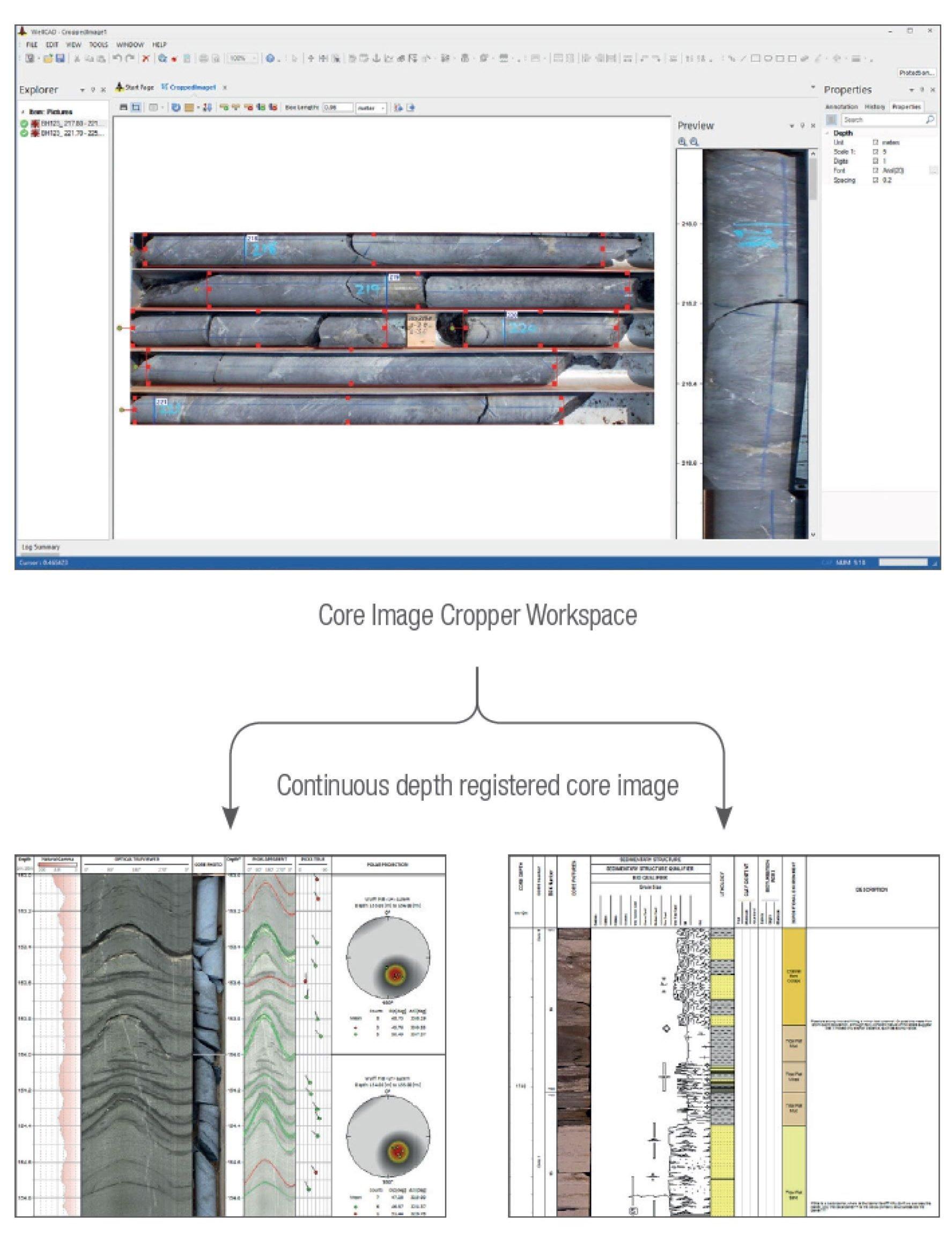 Core Box Photo Cropper Software